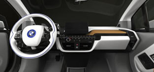 custom 3d modeling BMW with interior