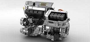 custom 3d animation Toyota Hybrid Engine