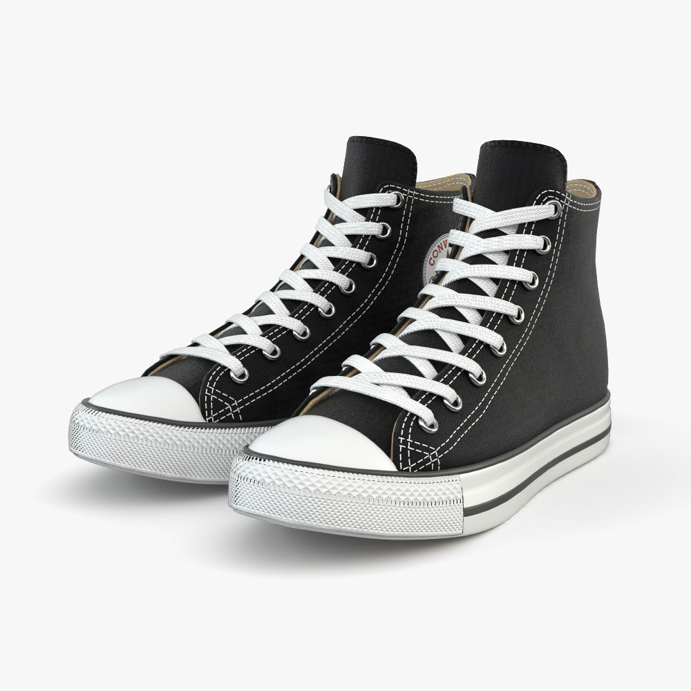 3D model of Converse Chuck Taylor All Star