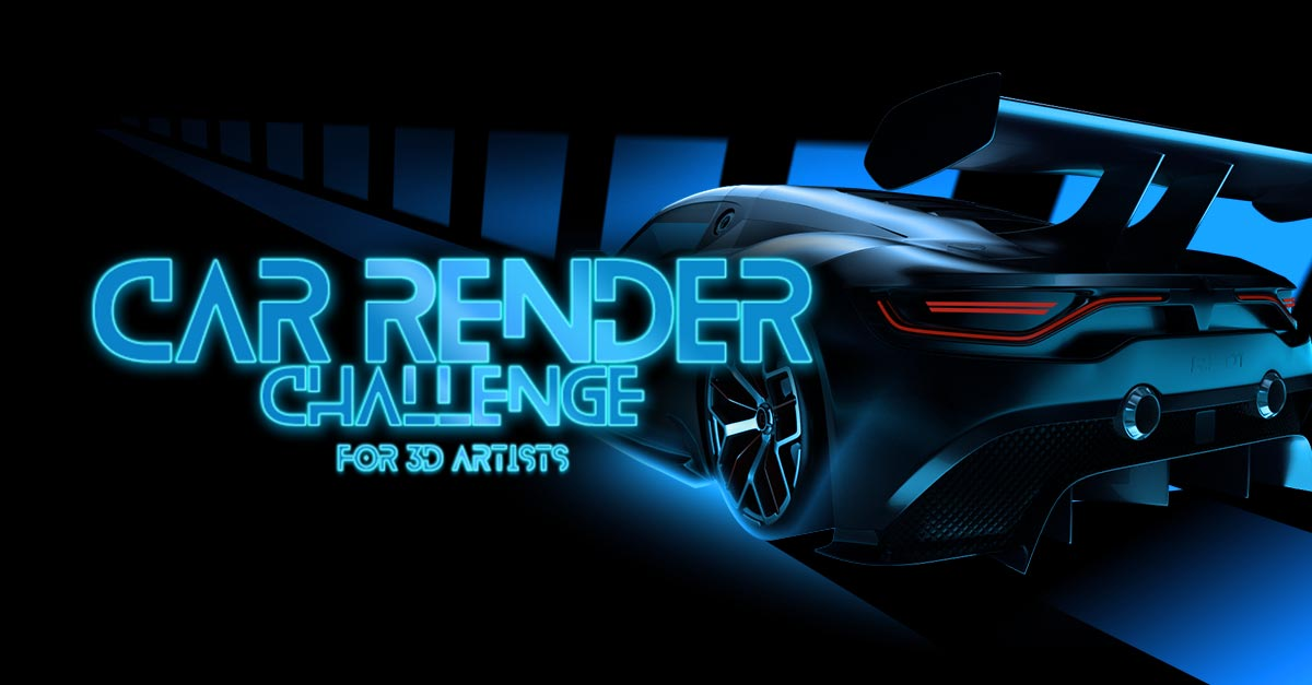 Car Render Challenge 2017   Hum3D