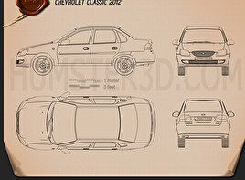 Chevrolet Classic 2013 Blueprint
