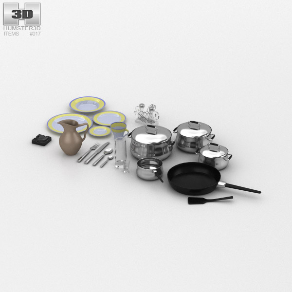 3D model of KitchenWare