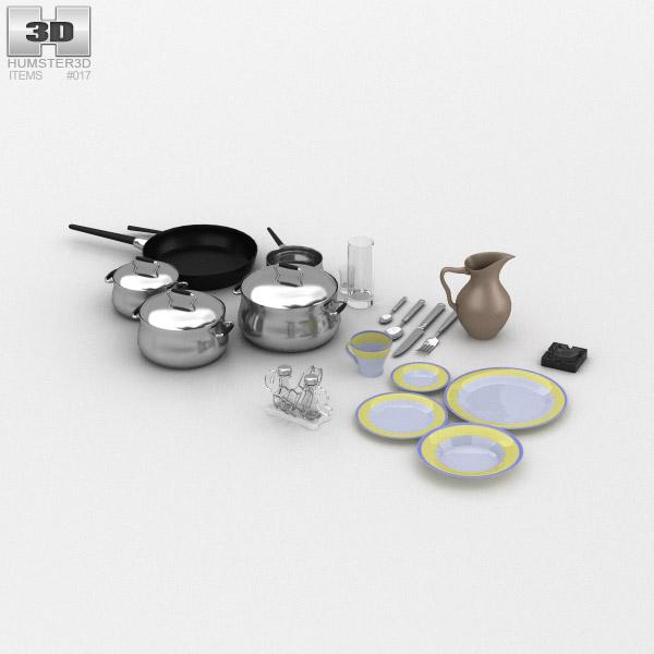 KitchenWare 3d model