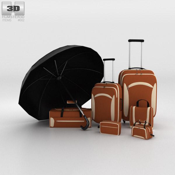 3D model of Bag set