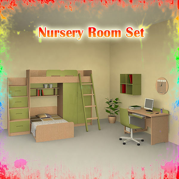 Nursery Room 04 Set 3D model