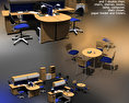 Office Set 09 3d model