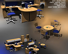 3D model of Office Set 09