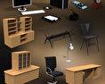 Office Set 10 3d model