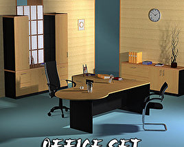 3D model of Office Set 17