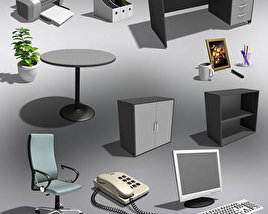 3D model of Office Set 20