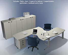 3D model of Office Set 21
