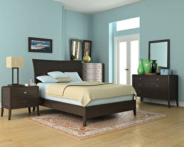 3D model of Bedroom Set 3