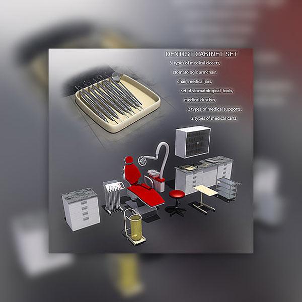 Dentist's Office 3D model
