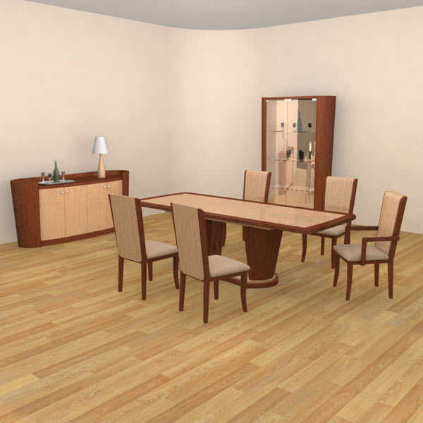 Dining Room 2 Set 3D model