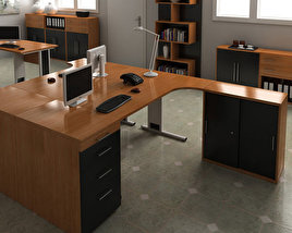 3D model of Office Set 16