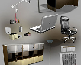 3D model of Office Set 23
