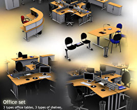 3D model of Office Set 12
