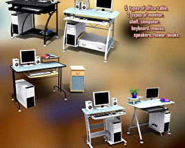 3D model of Office Set 13