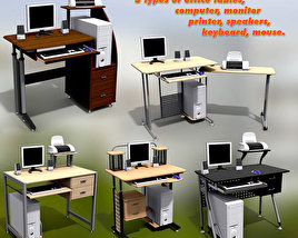 3D model of Office Set 14