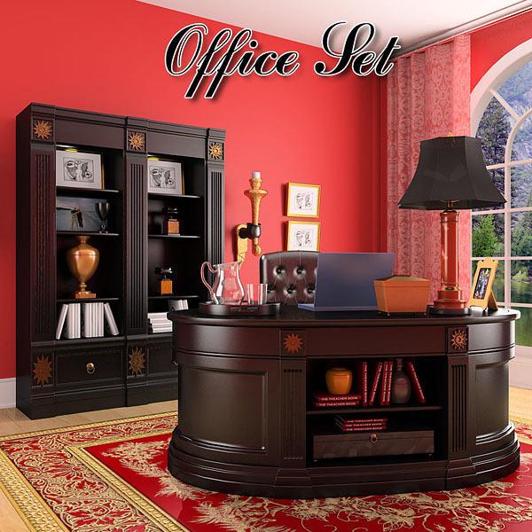 3D model of Office Set 19 Classic