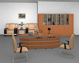 3D model of Office 22 Set