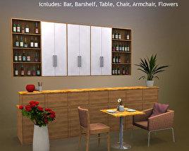 3D model of Restaurant 01