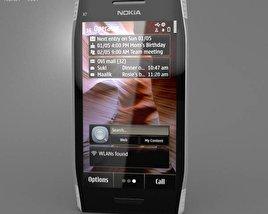 3D model of Nokia X7-00