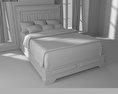 Bedroom Furniture 14 Set 3d model
