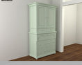 Bedroom Furniture 15 Set 3d model