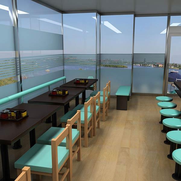 3D model of Fast Food Restaurant