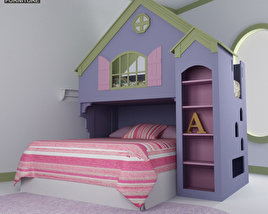 3D model of Nursery Room 05 Set