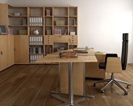 3D model of Office Set P11