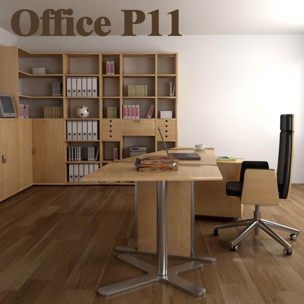Office Set P11 3D model