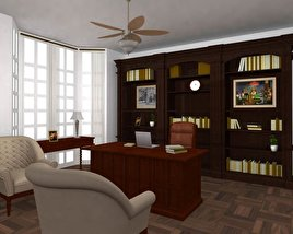 3D model of Office Set 25 Classic