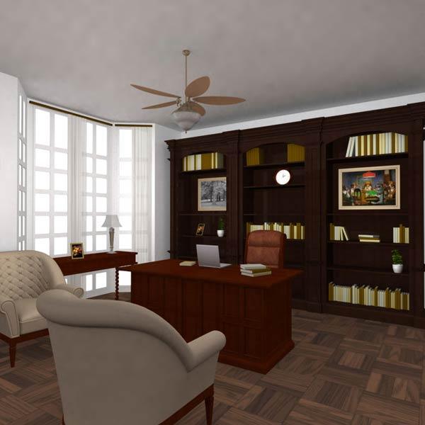 Office Set 25 Classic 3D model