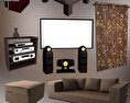 Home Theater Set 05 3d model