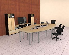 3D model of Office Set 24