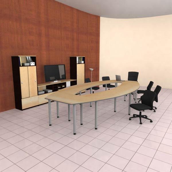 Office Set 24 3D model