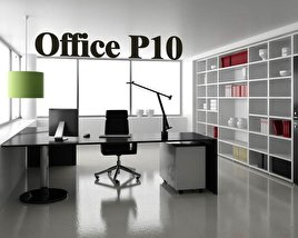 3D model of Office Set P10
