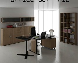 3D model of Office Set P12