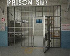 3D model of Prison Set
