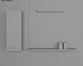 Bathroom Furniture 03 Set 3d model