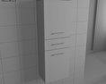Bathroom Furniture 04 Set 3d model