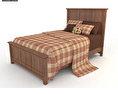 Bedroom Furniture 23 Set 3d model