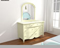 Bedroom Furniture 19 Set 3d model