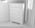 Bedroom Furniture 21 Set 3d model