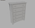 Bedroom Furniture 22 Set 3d model