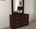 Bedroom Furniture 24 Set 3d model