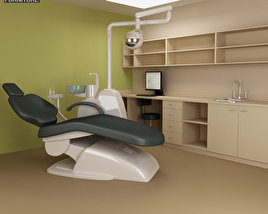 3D model of Dental Surgery - Hospital 03 Set
