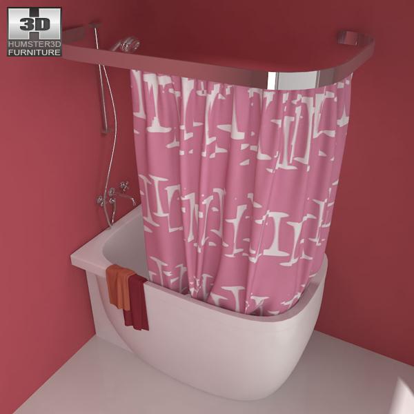 Bathroom 07 Set 3D-Modell
